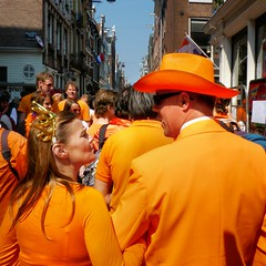 Our street dress code is orange (Bn) Tags: street girls party feest people music orange holiday holland boys water netherlands beer colors dutch amsterdam festival heineken fun boat dance code topf50 kiss kissing king dress singing dancing market smoke free floating kingdom swing canals celebration national trendy muziek carnaval prinsengracht alexander mokum gezellig amstel maxima willem jordaan oranje crowded straat feestdag grachtengordel eersteleliedwarsstraat panden 50faves koningsdag kingsday 26april dansmuziek