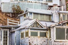 Let's Get a Little House Down By the Beach (Thomas Hawk) Tags: california usa abandoned beach unitedstates unitedstatesofamerica newportbeach crystalcove orangecounty crystalcovestatepark fav10