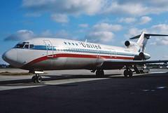 N7638U United 727-222 at KCLE (GeorgeM757) Tags: classic airplane airport aircraft aviation united boeing clevelandhopkins 727222 n7638u alltypesoftransport georgem757
