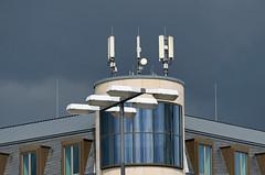 P1020119b (JB Fotofan) Tags: blue sky building lumix frankfurt himmel haus panasonic blau gebäude fz1000