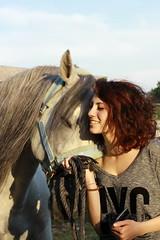 Domingo (erbaamara) Tags: horse love animal hug passion cavallo domingo