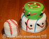 Sports Birthday Cake & Smash Cake