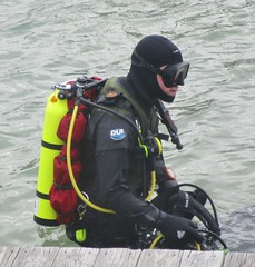 DUI profile (chemsuiter) Tags: harbor dive diver drysuit dui