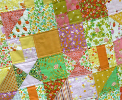 Briar Rose Mash Up Quilt Detail (alidiza) Tags: quilt patchwork briarrose heatherross