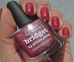 Bridget - Picture Polish (Raabh Aquino) Tags: red vermelho nails nailpolish unhas holographic esmalte naillacquer hologrfico