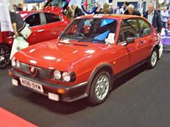 9 Alfa Romeo Alfasud Ti Quadrifoglio Verde (1983) (robertknight16) Tags: italy 1980s alfaromeo giugiaro ital alfasud quadrifolgio hruska nec2013 a156sym