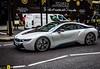 Sti poveracci (Autolavaggiobatman) Tags: london future bmw londra macchina viaggio futuristic inghilterra londontrip i8 2016 poveri ibrida