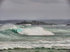 Rough Sea VI (elphweb) Tags: ocean sea seaside waves bigwaves roughsea bigocean falsehdr