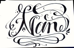 Nan. #handlettering #handwriting #handmade #Lettering #letters #marker #sharpie #ILoveCalligraphy #caligrafia #Calligraphy #doodle #art #design #ink #handstyles #calligraffity #HandType #escritura #tipographyinspired #pencil #sketch #paper #tagname #tatto (OscarInk25) Tags: art pencil ink handwriting paper design sketch handmade letters doodle marker sharpie lettering calligraphy tatto handlettering handstyles caligrafia escritura tagname handtype tattodesign calligraffity ilovecalligraphy tipographyinspired