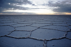 Salt flat (sophs123.) Tags: travel summer texture nature america canon de landscape san tour flat south salt bolivia pedro atacama latinoamerica vastness uyuni vast canon400d