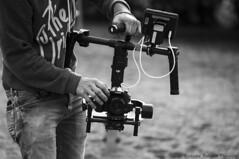 closecamerabw (Markus Pylkknen Photography) Tags: camera blackandwhite black canon finland lumix panasonic midday musicvideo canon6d stillshooting brunobinch