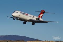VH-YQT QF B712 35 YSCB-3308 (A u s s i e P o m m) Tags: au australia boeing qantas cbr australiancapitalterritory b717 qantaslink yscb qjet canberrainternationalairport