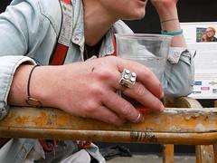 MADEMOISELLE MAURICE (Brin d'Amour) Tags: paris bijoux mur bague 75013 brindamour bagouze mademoisellemaurice
