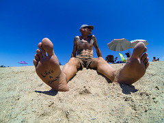 Life's A Beach (The.Mickster) Tags: portrait beach self randy 365 gopro hereios