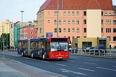 B-EE 8890 - S Messe Nord (ulzburger86) Tags: bus berlin mercedesbenz sev sbahn messe articulated gelenkbus gn2 ersatzverkehr