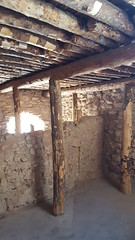 Inside one of the rooms in Tuzigoot