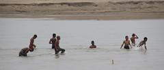 Childhood (mazedmaruph) Tags: childhood kids river happy kid teen enjoy bathing swiming feelings