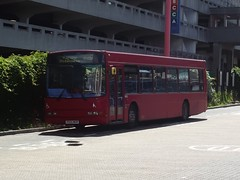 Trustybus (ex Go North East) Volvo B10BLE/Wright Renown X924WGR Harlow Bus Station 24/06/16 (TheStanstedTrainspotter) Tags: red bus public buses volvo transport harlow wright publictransport renown gonortheast goahead b10ble goaheadnortheast 410a volvob10ble wrightrenown trustybus galleontravel harlowbusstation x924wgr wathamcross