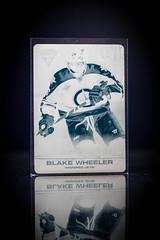 Cyan Blake Wheeler Panini Printing Plate (cdn_jets_cards) Tags: ice hockey cards nhl winnipeg jets go cyan plate 11 manitoba deck upper wheeler blake titanium panini upperdeck nhlpa 201112 201314