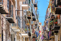 Via Gioeni (Kevin R Thornton) Tags: d90 nikon travel sicily architecture 2016 italy city cefalu cefalù sicilia it