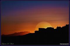 Il sole giallo - Luglio-2016 (agostinodascoli) Tags: travel sunset art texture nature photoshop landscape nikon tramonto colore digitalart digitalpainting cielo nikkor sole turismo viaggi paesaggi sicilia photopainting fullcolor cianciana agostinodascoli