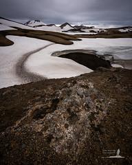 Fjallabak Flection (Greg Whitton Photography) Tags: snow ice rock landscape volcano iceland laugavegur hiking sony july hike curve volcanic hrafntinnusker fjallabak a7rii