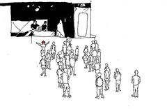 DJ Zone_Das Fest, Karlsruhe_July 2016 (stevefaradaysketches) Tags: dj floor dasfest karlsruhe urbansketch inksketch