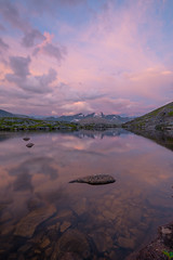 lake reflections (tryggstrand) Tags: landscape landscapes landscapephotography nature naturephoto nikon nikond750 d750 discover sky summer sunset lights light reflections reflection norway night midnightsun clouds lake water hiking weather