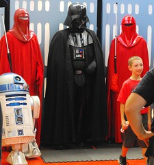 B6809 * Star Wars night at the Buffalo Bisons baseball game 2016 (sabre11richard) Tags: minor league baseball international toronto blue jays triple affiliate herd royal guard darth vader r2d2 artoo detoo