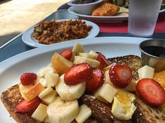 Sun Rise Restaurant - Mission, San Francisco (Tony Webster) Tags: 24th mission sanfrancisco sunriserestaurant frenchtoast soyrizo vegan veganchorizo veganfood veganfrenchtoast california unitedstates us