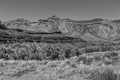 High Desert (Kool Cats Photography over 7 Million Views) Tags: utah blackandwhite monochrome erosion geology landscape desert mountain photography ef24105mmf4lisusm canoneos6d