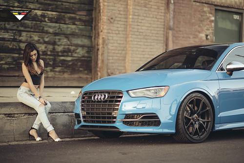 Audi S3 на дисках Vorsteiner