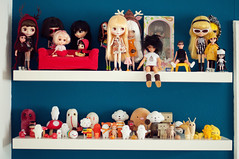 Doll & Toy Shelf 1/2 (Sai / Rebecca) Tags: red orange brown ikea yellow japan vintage toy rainbow beige nikon doll nintendo plush collection momiji bjd pullip blythe icy custom domokun mrttt roygbiv shyguy wataru wishcometrue giantmicrobes friendswithyou spöka delme crazylabel treeson susiesadeyes sonnyangel bubiauyeung odeco ddung susieslicker d5000 sergeysafonov danboard onsenmanjukun kutusitanyanko moonfox goluckyneko takochu monsterhigh luckynamekujidoll 5stardoll fluffyhouse sumikkogurashi puchibabydeer