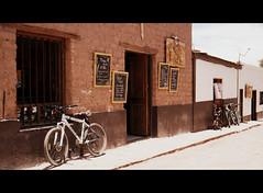 San Pedro de Atacama Street (sLorenzi) Tags: chile street bicycle san desert bicicleta pedro atacama urbanphotography fotografiaurbana