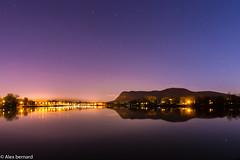 Où la colline rencontre la rivière (alex.bernard) Tags: canada reflection night canon river rivière reflet québec tamron nuit montérégie beloeil montsainthilaire rivièrerichelieu tamron2470 canon5diii