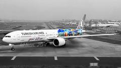 Turkish Airlines B777-300ER TC-JJU (Aiel) Tags: star bombay boeing mumbai sanfransisco alliance b777 turkishairlines tamron1750f28 canon60d b777300er tcjju