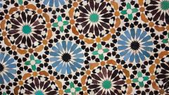Zellige, Marrakech (diego.castillop) Tags: africa canon mosaic terracotta mosaico arabic morocco maroc marrakech medina marrakesh marruecos zellij zillij almagrib diegocastillo zellije t2i