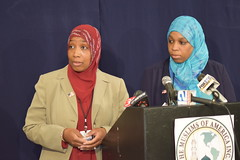 TMOA Press Conference 2015 (shadowgirl08) Tags: camera ladies camp ny men robert kids danger america children women media kill islam group attack hijab terrorist visit mosque r muslims hancock bomb prophet reporters arrest allah muhammad azza the tmoa pbuh islamberg doggart flowersofislam shadowgirl08