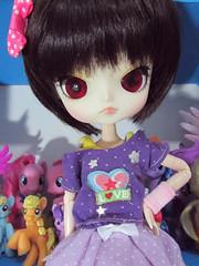 [Zero tan] (nakapinata) Tags: cute little dal cm pony 25 kawaii pullip obitsu kawaiidesu dotori