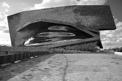 Philharmonie de Paris designed by Jean Nouvel (Richard Needham) Tags: music paris de classical parc modernarchitecture villette philharmonie jeannouvel