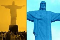 RIO DE JANEIRO - BRA (JCassiano) Tags: brazil sculpture mountain monument rio statue brasil de janeiro christ monumento corcovado escultura cristo morro montanha redeemer redentor estátua the região sudeste