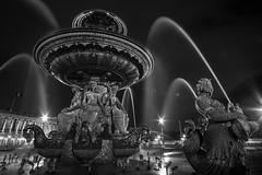 Paris; Place de la Concorde; Fontaine des Mers (Andreas Bischof - Fine Art Photography) Tags: paris zeiss sony flektogon 20mm placedelaconcorde fontainedesmers a7r