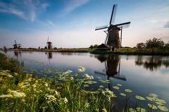 Windmills (jensrother) Tags: lake windmill nl kinderdijk niederlande zuidholland