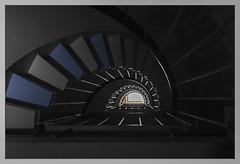 Three floors to Heaven (JP Korpi-Vartiainen) Tags: house 3 building architecture stairs finland living three arch apartment floor arc curvy stairway indoors staircase highrise bent 1970s curve talo kuopio arkkitehtuuri rakennus kolme asuminen kaari kerrostalo portaat kerros porraskytv siskuva pohjoissavo kaareva