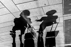 Street Photography - Milano 323 (Giorgio Meneghetti) Tags: street travel blackandwhite nikon df strada streetphotography ombre persons biancoenero fotografiadistrada nikonclubit