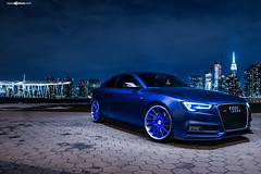 audi-s5-f451-spec2-polished-electron-blue-brushed-lip-1 (AvantGardeWheels) Tags: blue euro electron audi coupe lowered forged polished stance s5 directional 2dr fitment f451