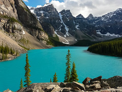 Banff National Park: Moraine Lake II (gabri_micha) Tags: canada banff kanada banffnationalpark morainelake