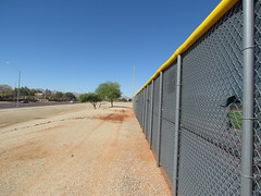 Barren Tracks at Surprise Stadium -- Surprise, AZ, March 09, 2016 (baseballoogie) Tags: arizona canon baseball stadium az powershot surprise ballpark springtraining royals kansascityroyals cactusleague baseballpark surprisestadium 030916 sx30is canonpowershotssx30is baseball16