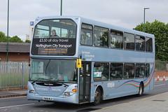 Nottingham City Transport 959 (Ash Hammond) Tags: 959 nottinghamcitytransport scanian270ud yn08mlx darwenomnidekka