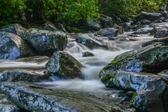 Stream (brendabrand467) Tags: water creek waterfall spring stream soft stones flowing cascade smokymountain